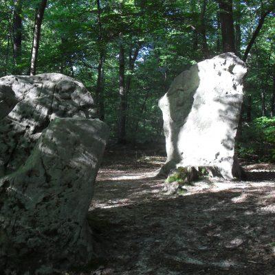 Forêt d'Halatte - menhirs des Indrolles