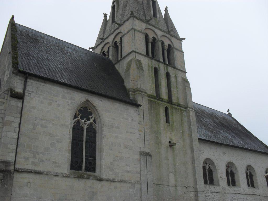 Eglise de Chamant - édifiée en 1129